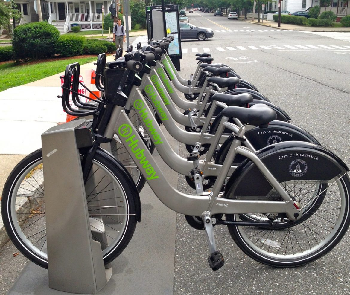 Hubway at Tufts - Packard Avenue