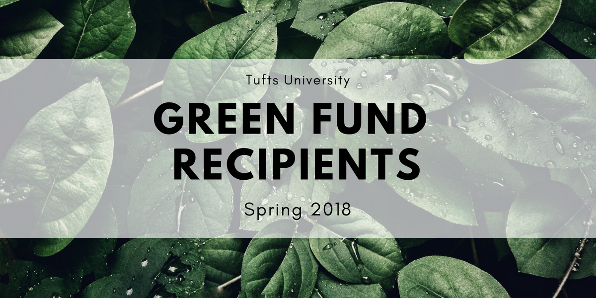First Green Fund Recipients Announced