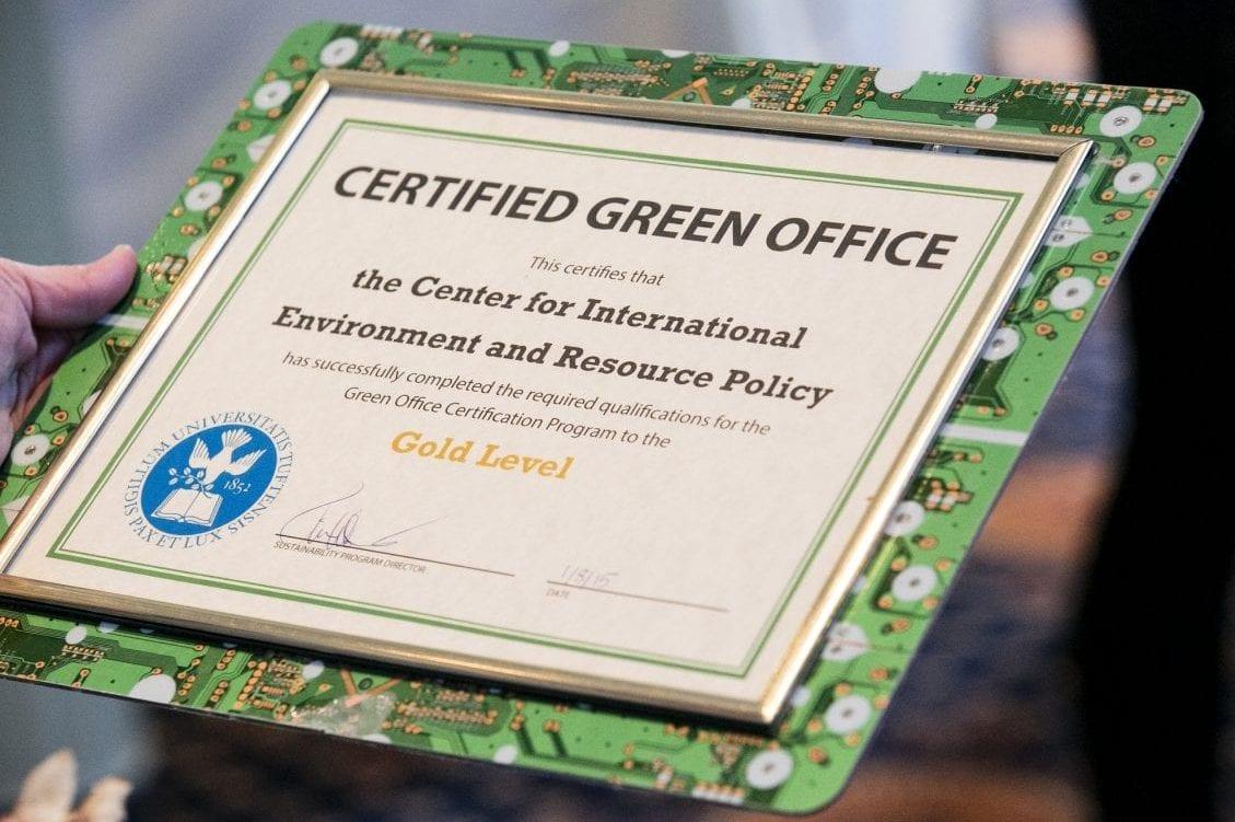 Join the Green Office Certification Challenge!