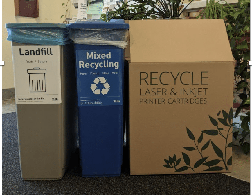 Toner Recycling Bin
