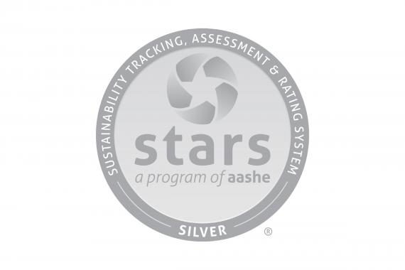 AASHE STARS silver logo