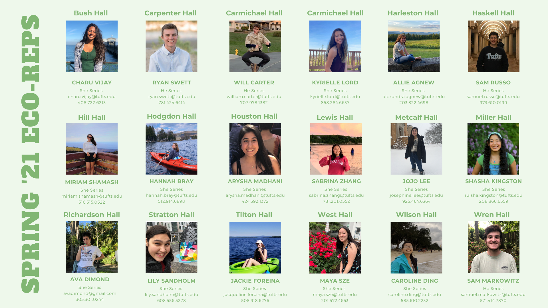 Find Your Eco-Rep!