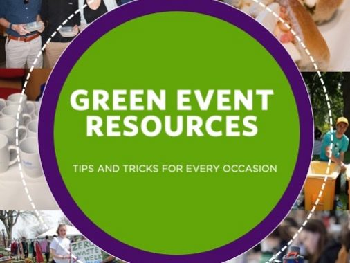 cover of green event resources