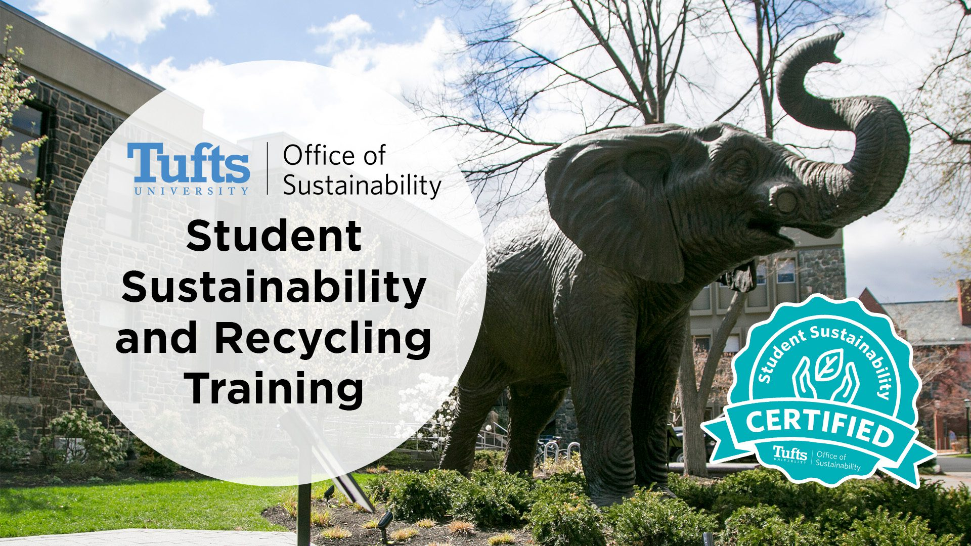 [NEW] Student Sustainability and Recycling Trainings