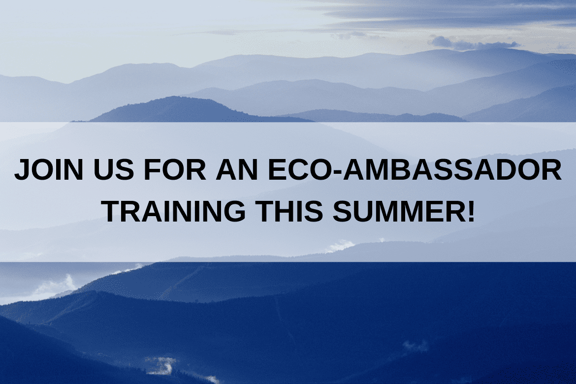 Interested in Becoming an Eco-Ambassador?