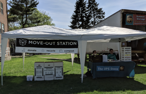 Move Out Station During 2018 Move Out
