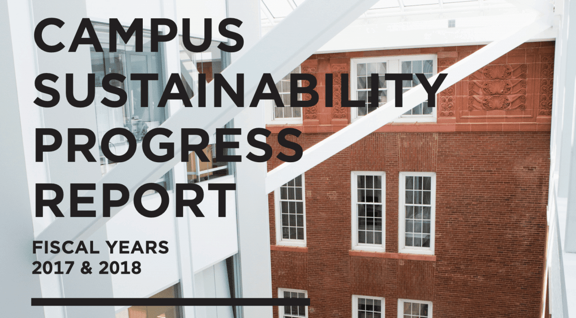 Tufts Sustainability Progress Report Release