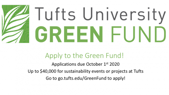 Green Fund 2020-21 Applications are open now!