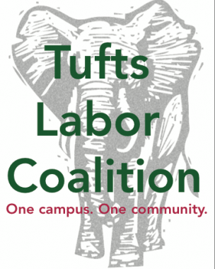 Tufts Labor Coalition Logo