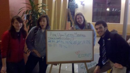 Eco-Reps Meatless Meal Mar 2, 2011