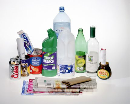 Medford and somerville both have curbside recycling programs your